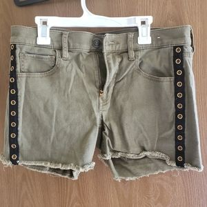 Express Olive Green Shortie